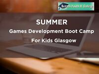 Summer kids computer games development courses