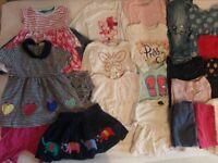 Baby girls bundle 12-18m