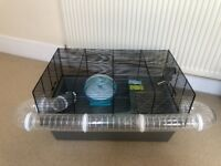 Large Hamster/Mice/Gerbil Cage with Accessories