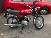 Yamaha 1987 YB100 big brother to the FS1E (fizzy)