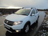 2013 (63) DACIA SANDERO STEPWAY LAUREATE 1.5DCi. FULL SERVICE HISTORY. IMMACULATE