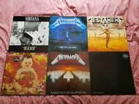 Metal Grunge rock records/Lp's