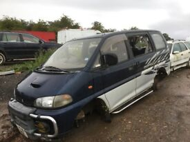 Mitsubishi delica diesel spare parts available
