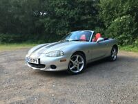 Mazda MX5. Brand new roof! Rare 'Nardi Torino' trim