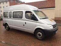 LDV maxis lwb 15 seat mini bus 2.5cdi 120 low miles 58k long mot