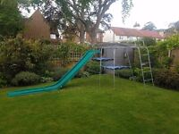 TP Challenger Climbing Frame with extended slide