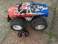 Large remote controlled car