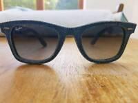 Ray ban wayfarer sunglasses denim affect