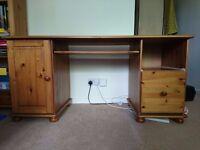 Pine Desk and Chair £50 O.N.O.