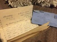 1946 & 1947 letters & stamps