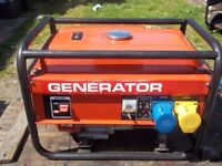2.2KW 4 STROKE PETROL GENERATOR WITH LOW OIL AUTOMATIC SHUTDOWN