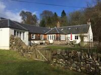 3 bedroom house in Mill of Fyall Cottage, Alyth, Blairgowrie