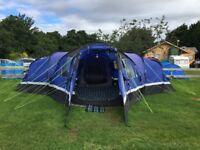 Hi-Gear Sahara 6 Person Large Tent + Carpets + Footprint - Excellent Condition