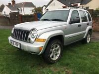 Jeep Cherokee Limited 2.8 Crd 119.000 miles new mot £1950