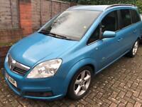 Vauxhall Zafira SRI 2.2l Petrol