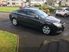2009 vauxhall insignia, black, spare wheels included, in decent condition £3100 ONO