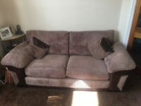 Fantastic quality Sofa, Two Chairs and Storage Foot Stool