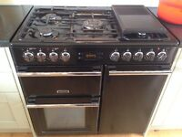 Leisure HAP 5000 range cooker, less than 3 years old, inc users guide and installation manual