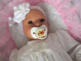Reborn Baby Girl Doll from the Punkin kit by Donna Rubert