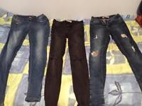 Women's skinny jeans size 8/10