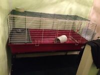Rabbit/Guinea Pig Extra Large Indoor Cage On Stand