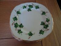Colclough Ivy Leaf Side Plates x 7