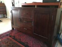 Sideboard - beautiful, quality fruitwood.