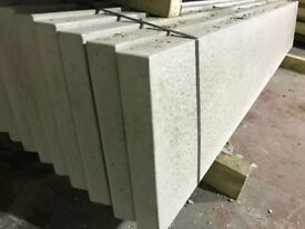Smooth face gravel boards, base panels