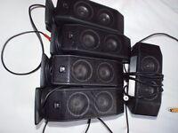 5 Logitech computer speakers