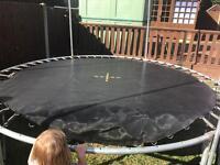 Trampoline spare jump mat