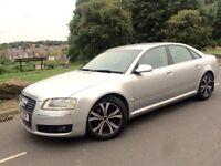 2008 Facelift Audi A8 Sport 3.0 Tdi Lwb Auto /Tripronic #Sat Nav # Leather # Xenons # p /s # 2 own#