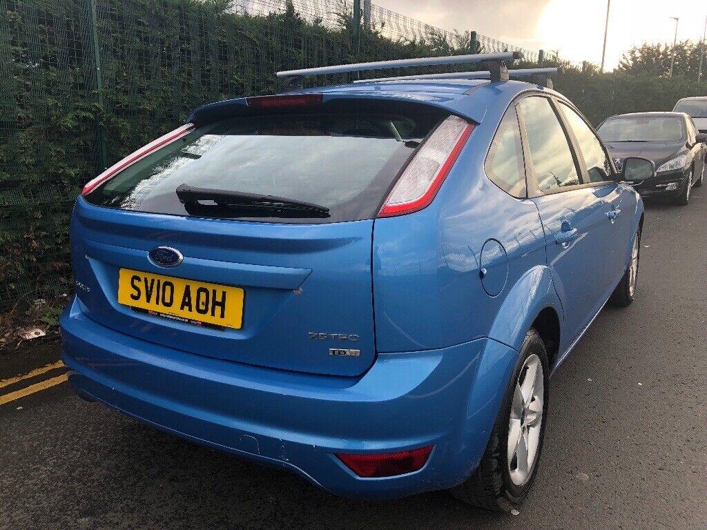 2010 Ford Focus Zetec 1 6 Diesel Climate Blue In Crewe Toll Edinburgh Gumtree