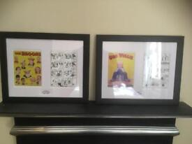 Framed prints Our Willie Broons Scottish Comic Art