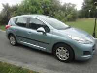 2010 Peugeot 207 1 year MOT