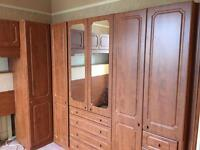 Large Fitted Wardrobes & Dressing Table
