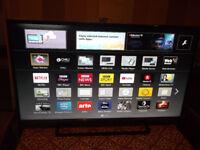 42 inch Panasonic Full HD 1080p Freeview HD Smart LED TV TX-42AS520B