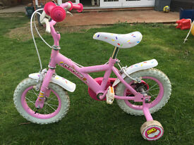 "Girls Bike Apollo Cupcake 12"" Pink Bike Suitable Age 3-5 Years"