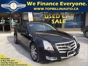 2011 Cadillac CTS 3.6L AWD Navigation, LEATHER, SUNROOF
