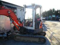 2011 Kubota U35 3.5 tonne digger
