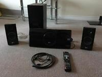 LG HX46R 3D Blu ray player home cinema system