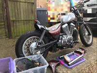 Suzuki VS700 Bobber project motorcycle