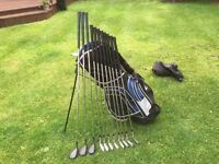 Golf clubs-Full set of Ladies golf clubs, Driver, 3 & 5 Woods-Irons-Putter-Bag-New Glove-balls &more
