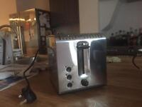 Russell Hobbs two slice chrome toaster
