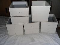Kallax Storage shelving door and drawers inserts