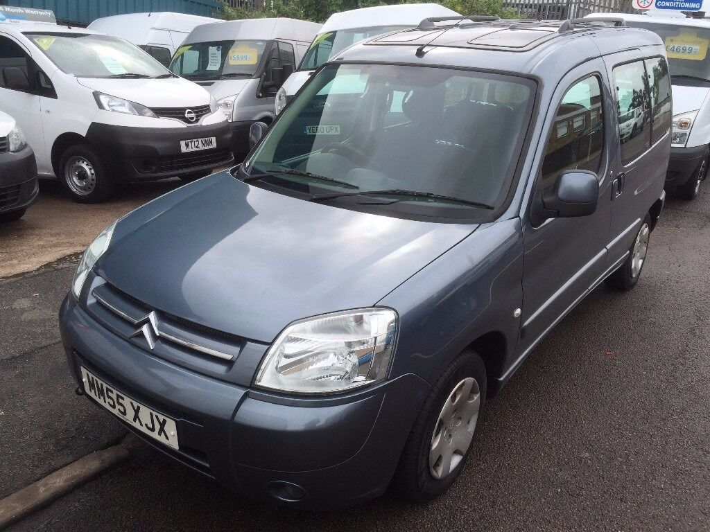 citroen berlingo multispace desire with glass roof 1 6hdi 2006 55reg 1950 in leicester. Black Bedroom Furniture Sets. Home Design Ideas