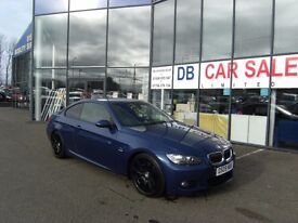 2009 09 BMW 3 SERIES 3.0 330D M SPORT 2D 242 BHP **** GUARANTEED FINANCE **** PART EX WELCOME