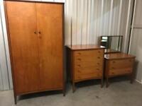 Retro mid century bedroom suite delivery poss