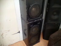 speakers-2x 200 watts-dj-band.