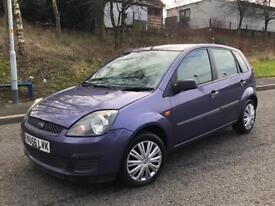 FORD FIESTA STYLE CLIMATE 1.4 2007+GENUINE LOW MILEAGE LONG MOT+RELIABLE&ECONOMICAL**