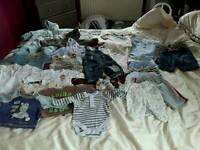 Boys Baby Clothes Bundle ( size 0 - 3 Months)